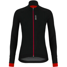 Santini Stella Windproof Veste Femme, black/red